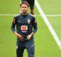 El entrenador de Brasil confirmó que Neymar jugará en el partido amistoso contra Croacia. Foto: AFP