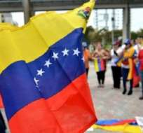 Grupo de venezolanos en Ecuador. Foto: Archivo
