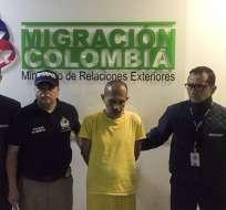 """El """"Lobo Feroz"""", fue extraditado este jueves desde Venezuela. Foto: AFP"""