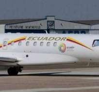 Uso de avión presidencial