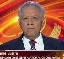 Carlos Guerra, candidato al CPCCS