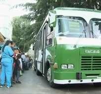 Carencia de transportes en Caracas