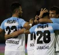 La 'academia' empató con Tigres 1-1 y se consagró tras el empate de Defensa y Justicia. Foto: ALEJANDRO PAGNI / AFP