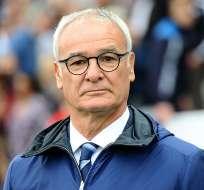 Claudio Ranieri, entrenador italiano.