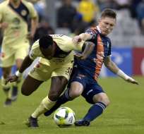 Las 'Águilas' vencieron 2-0 a la 'Chivas' de Guadalajara. Foto: CLAUDIO CRUZ / AFP