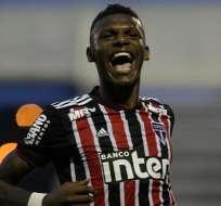 Robert Arboleda fue titular en el triunfo de Sao Paulo 1-0 ante Vasco da Gama. Foto: Archivo