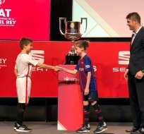 El sorteo de la competición se realizó la tarde de este viernes en España. Foto: Tomada de @rfef