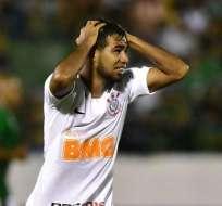 Sornoza, jugador del Corinthians de Brasil