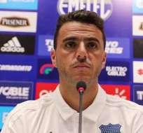 Mariano Soso en rueda de prensa.