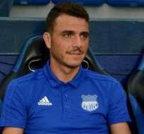 Mariano Soso, entrenador de Emelec.