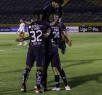 La 'chatoleí' venció 6-0 al conjunto machaleño en el estadio Olímpico Atahualpa. Foto: API