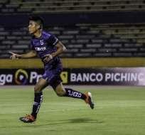 Bruno Vides tras un gol en un cotejo pasado.