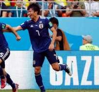 Japón no contará con el delantero Yuya Osako. Foto: AFP/Archivo