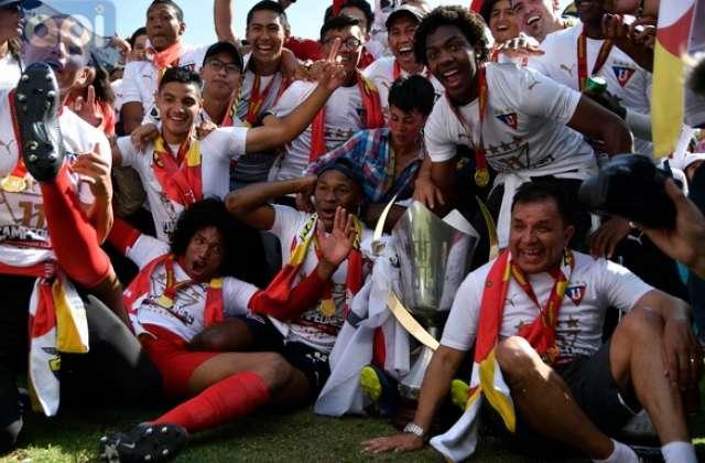 QUITO, Ecuador.- Liga de Quito celebra su campeonato número 11. Foto: API