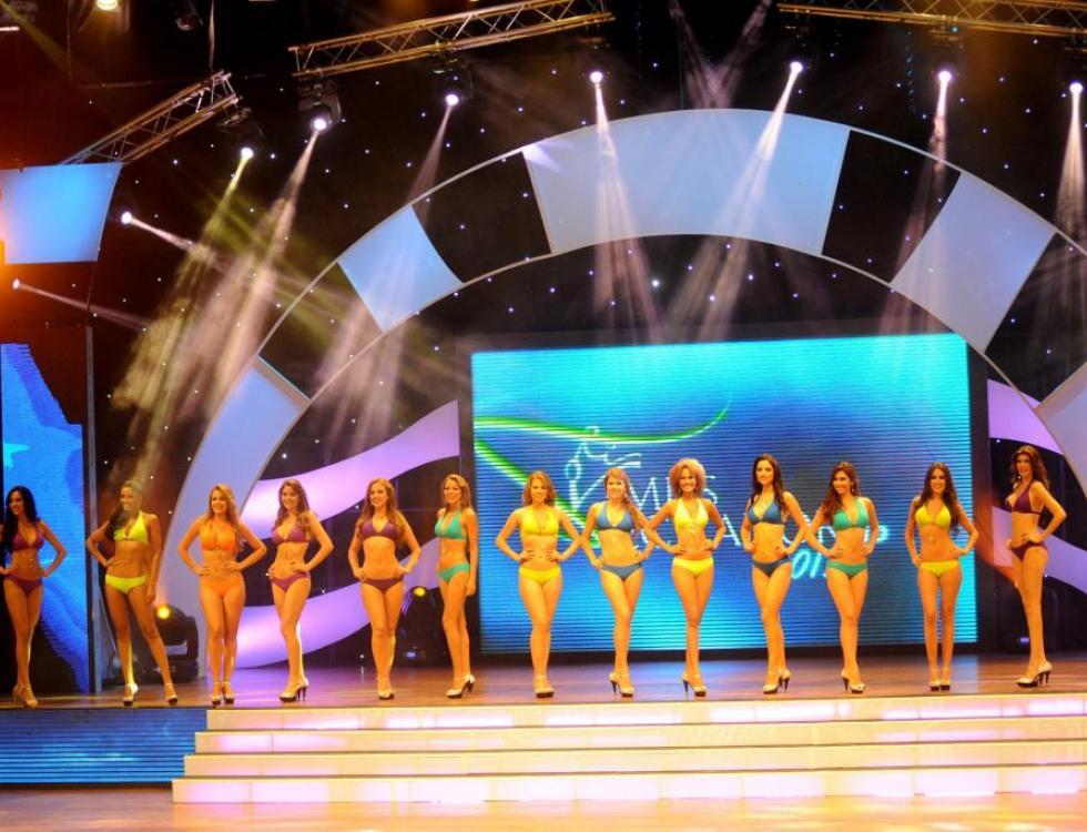 Guayaquil, Ecuador. En el Teatro Centro Cívico se realizó Miss Ecuador 2013.