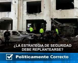 ¿La estrategia de seguridad debe replantearse en Ecuador?