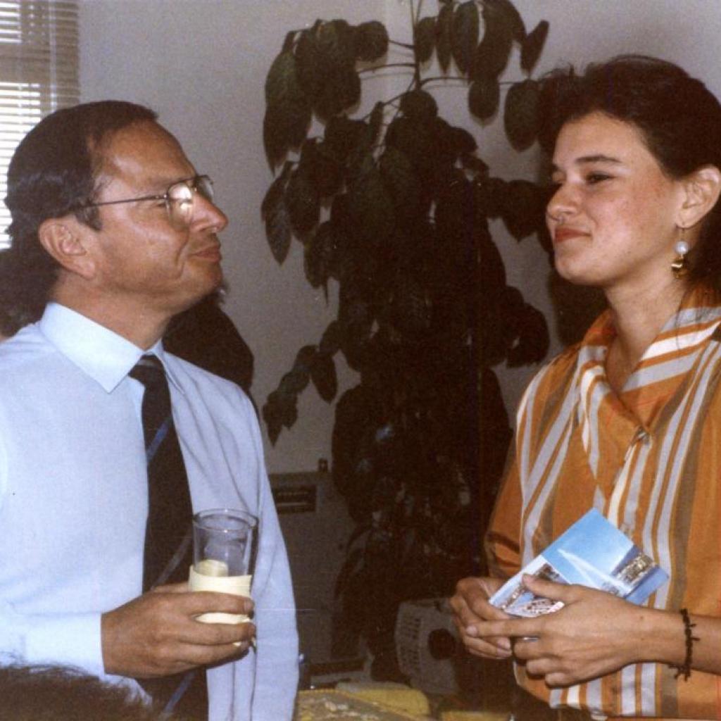 Xavier Alvarado Roca y Teresa Arboleda.