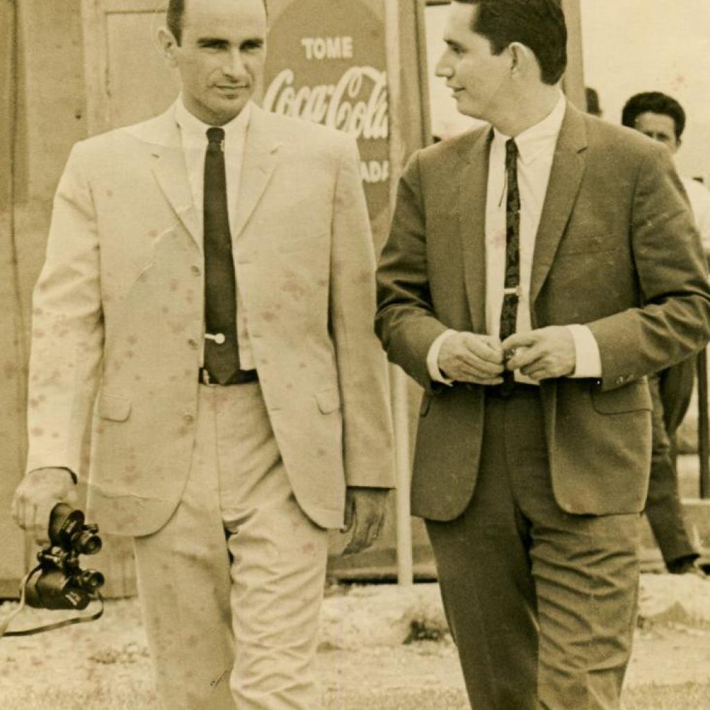 Mariano Merchán y Alfonso Espinosa de los Monteros.
