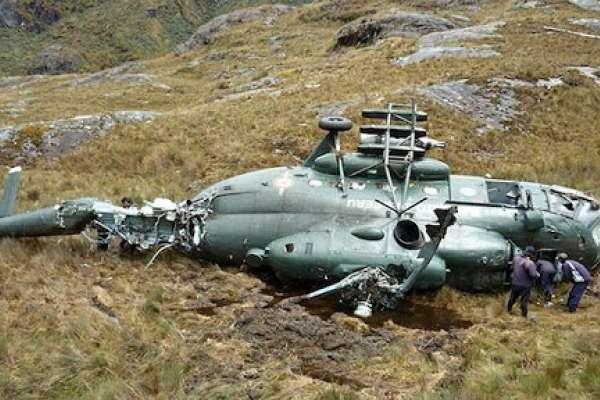 Accidente de helicóptero en Amazonía de Perú deja siete muertos