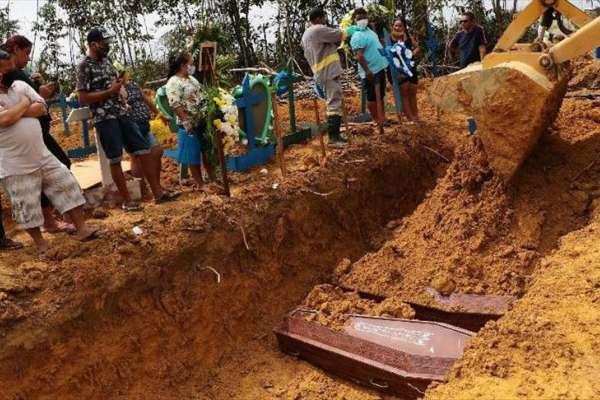 Brasil suma 1.154 nuevas muertes por COVID-19