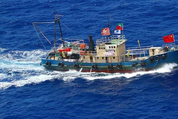 Presentan carta a la ONU por contaminación de barcos chinos