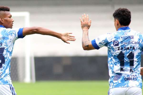 Emelec superó a Atlético Porteño en amistoso sin público