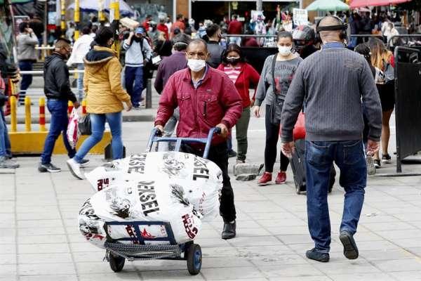 Colombia vuelve a pasar de 10.000 casos diarios de coronavirus
