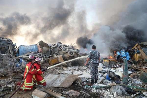 Más del 50% de la estructura sanitaria de Beirut quedó destruida