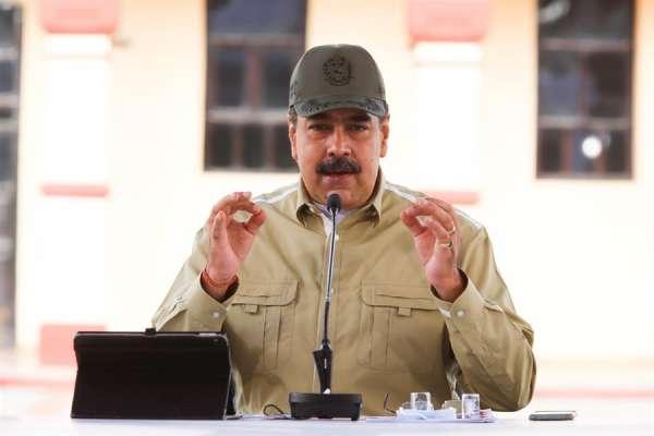 Maduro: 'Pompeo llama a una guerra contra Venezuela'