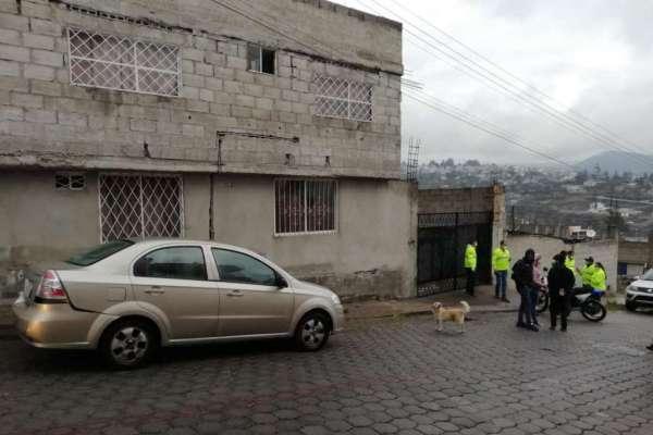 Policía Nacional allana casa de pareja de asaltantes en Quito