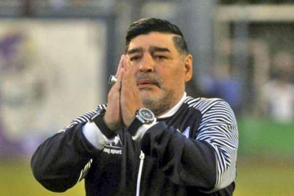 La frase que Maradona quiso que vaya en su lápida