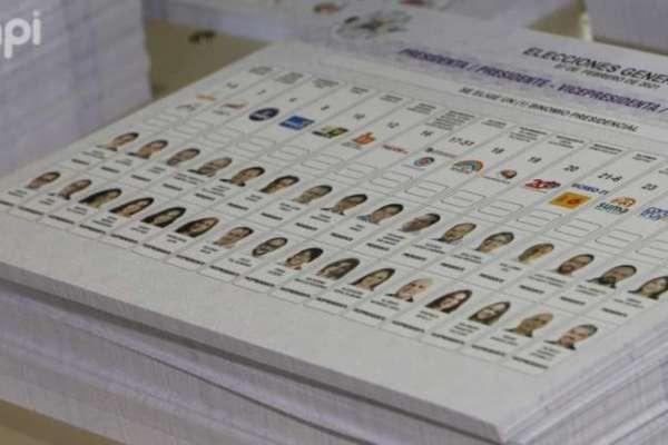 Nueva papeleta presidencial tendrá distintivos verdes