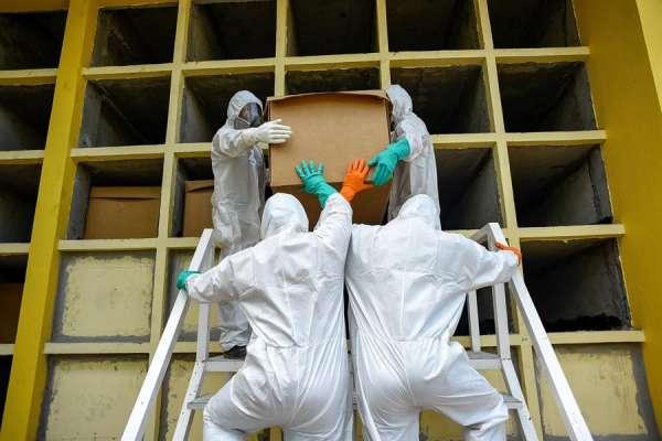 Se duplican las muertes diarias por Covid-19 en Guayaquil
