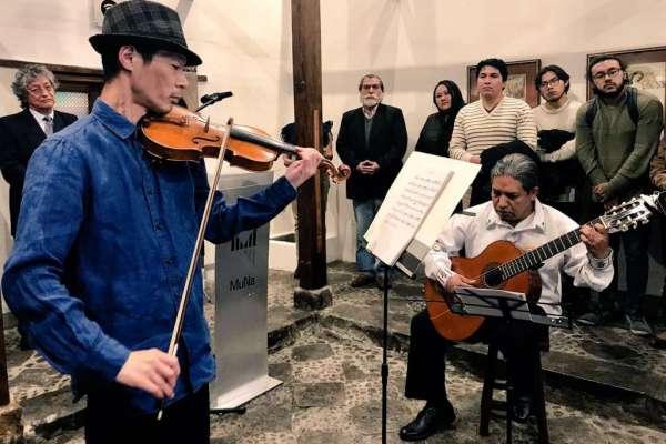 Moreno lamenta la muerte del violinista Tadashi Maeda