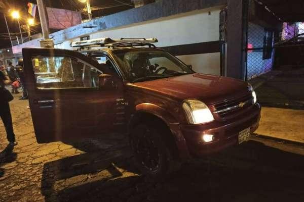 Policía resultó gravemente herido en operativo en Quito