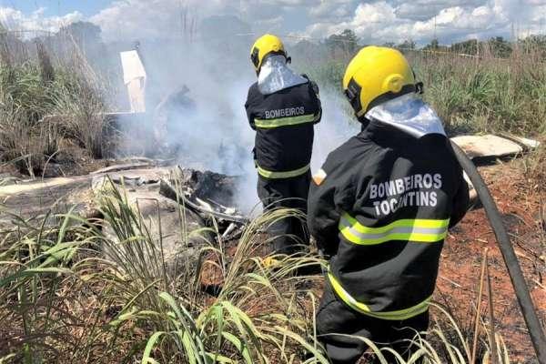 Presidente y 4 futbolistas de club brasileño mueren en accidente aéreo