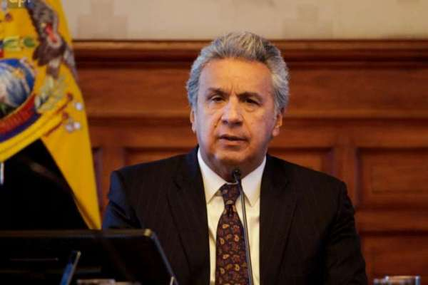 Lenín Moreno se pronuncia tras amotinamientos