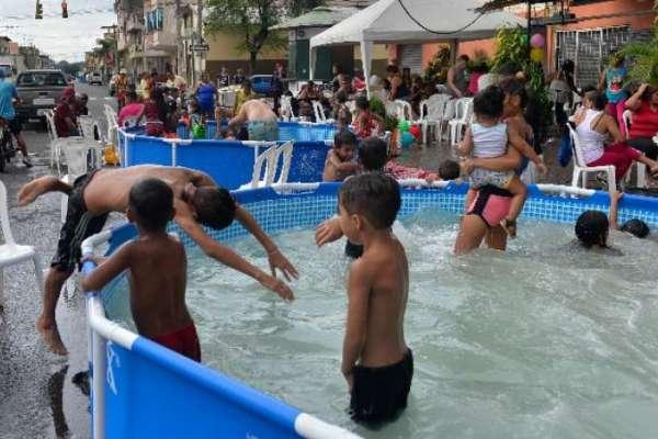 COE cantonal permite piscinas portátiles en Guayaquil
