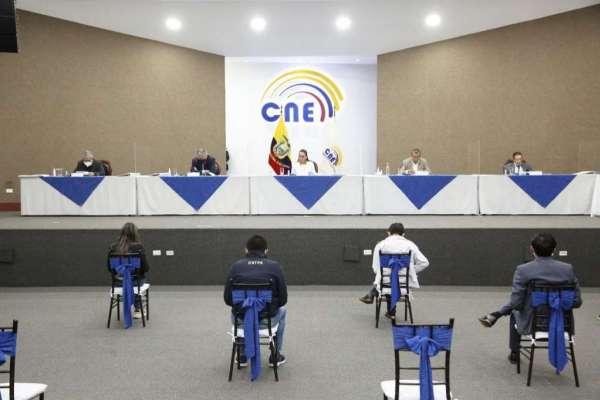 CNE solo permitirá recuento de votos correspondientes a 31 actas