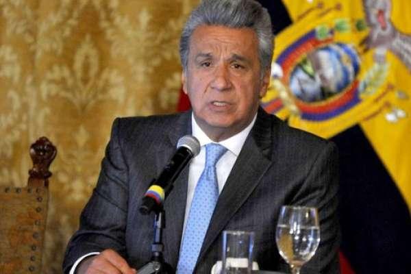 Moreno critica al CAL por no dar paso a ley sobre dolarización en la Asamblea
