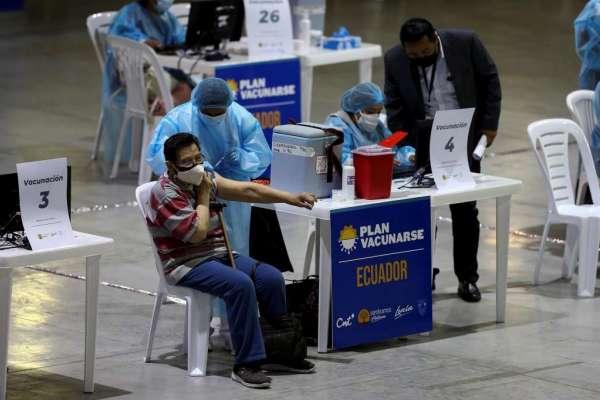 Contagios de COVID-19 en Ecuador llegan a 365.393