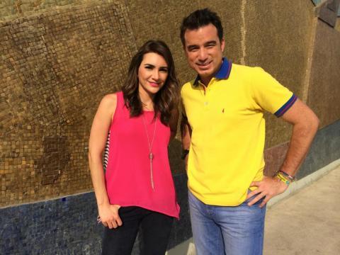 Andrés Jungbluth y Clara María Reyes serán los encargados de hacer las tardes más divertidas, en el  'After Office'. Foto: Ecuavisa