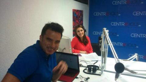 El estreno del After Office en su segunda temporada llegó recargado de la mano de Andrés Jungbluth y  Clara María Reyes. Foto: Ecuavisa