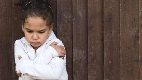 Los niños pequeños también se estresan.