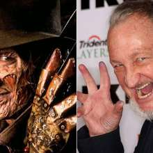 Freddy Krueger interpretado por Robert Englund. Referencia: Internet