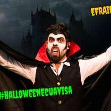 Te apostamos que nunca has visto un vampiro con las patillas como Efraín Ruales.