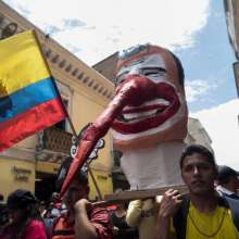 Marcha de los trabajadores en conmemoración al 1 de mayo - Quito