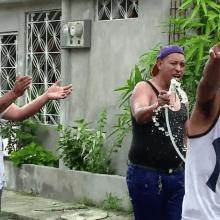 Baile, alegría, color y mucha diversión, así es como el guayaquileño celebra el carnaval.