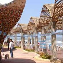 Es un balneario muy tranquilo y listo para recibir a turistas de todo el mundo