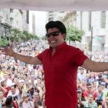 El cantante Gerardo Morán fue uno de los invitados a cantar en Guayaquil durante carnaval.